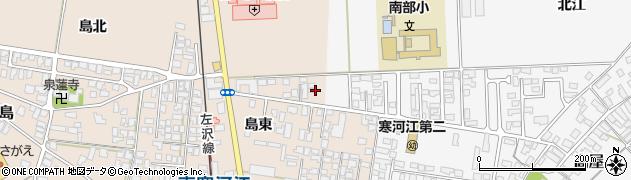 山形県寒河江市島115周辺の地図