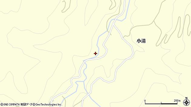 山形県西村山郡大江町小清543周辺の地図