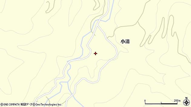 山形県西村山郡大江町小清62周辺の地図