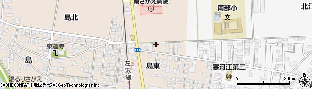 山形県寒河江市島島東113周辺の地図