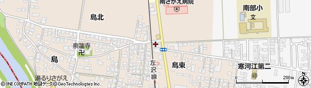 山形県寒河江市島78周辺の地図