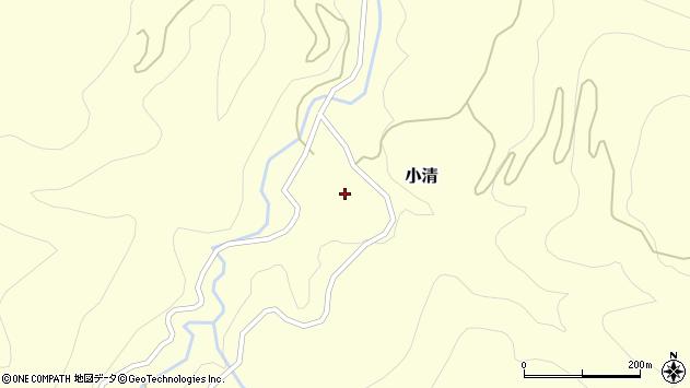 山形県西村山郡大江町小清56周辺の地図