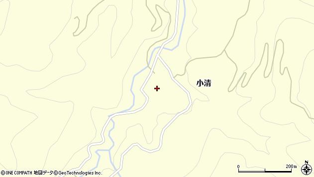 山形県西村山郡大江町小清59周辺の地図