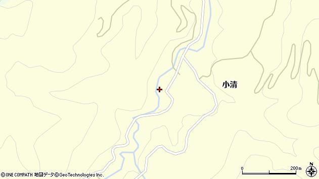 山形県西村山郡大江町小清88周辺の地図