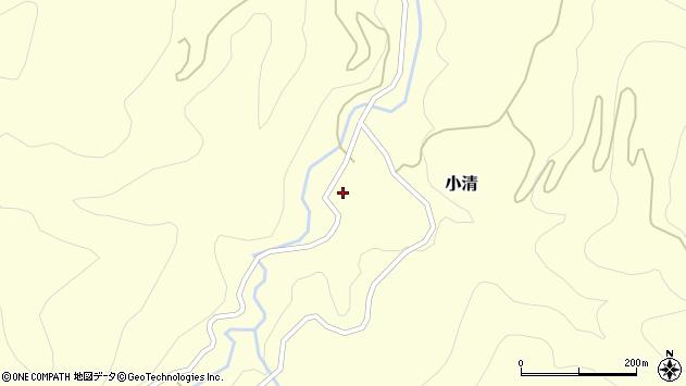 山形県西村山郡大江町小清89周辺の地図