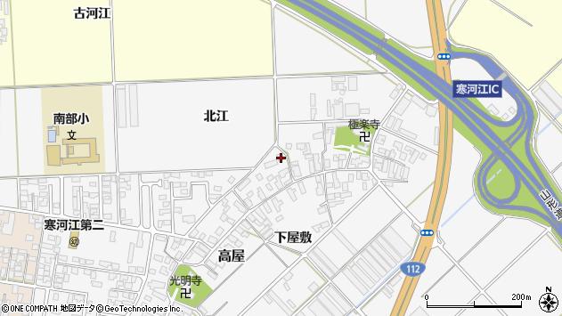 山形県寒河江市高屋355周辺の地図