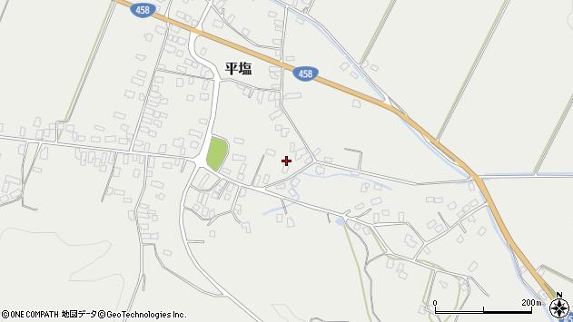 山形県寒河江市平塩432周辺の地図