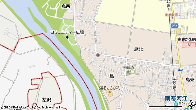 山形県寒河江市島138周辺の地図
