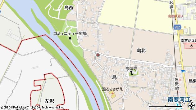山形県寒河江市島137周辺の地図