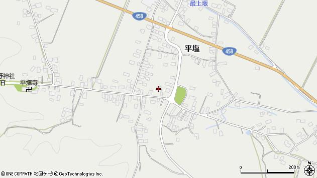 山形県寒河江市平塩359周辺の地図