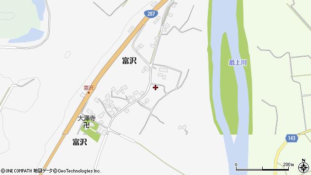 山形県西村山郡大江町富沢367周辺の地図