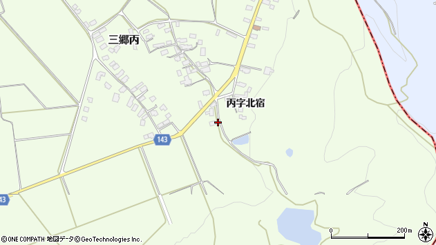 山形県西村山郡大江町三郷丙333周辺の地図