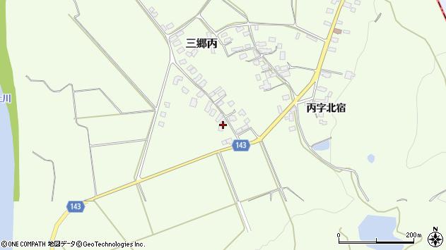山形県西村山郡大江町三郷丙641周辺の地図