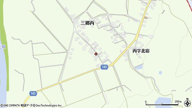 山形県西村山郡大江町三郷丙647周辺の地図