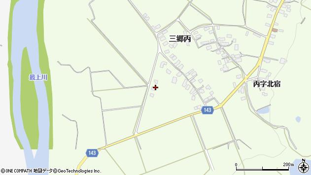 山形県西村山郡大江町三郷丙199周辺の地図