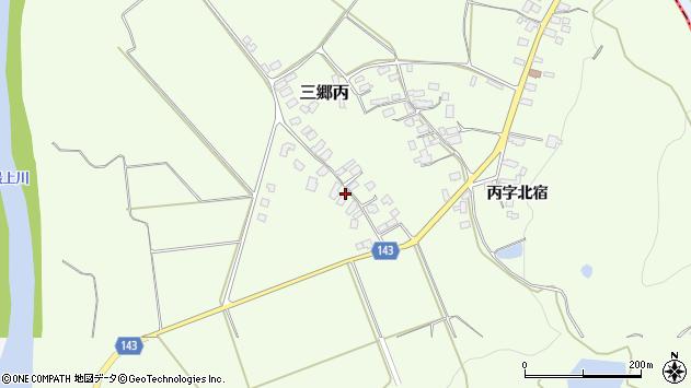 山形県西村山郡大江町三郷丙646周辺の地図