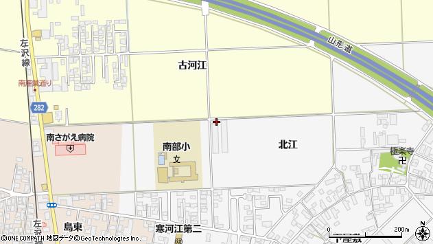 山形県寒河江市高屋北江28周辺の地図