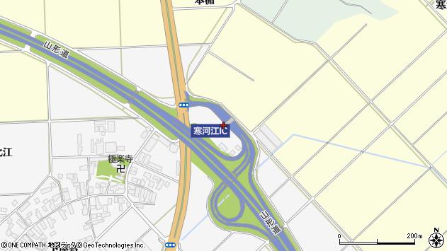 山形県寒河江市高屋台下1489周辺の地図