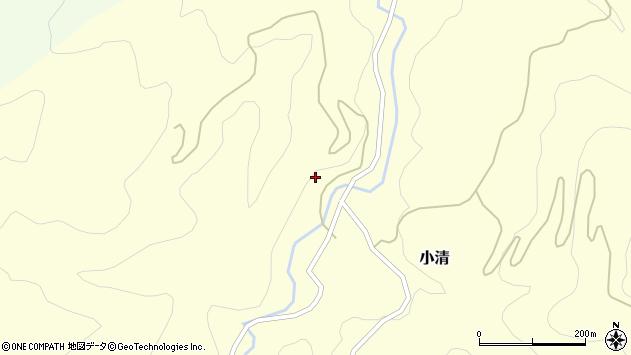 山形県西村山郡大江町小清114周辺の地図