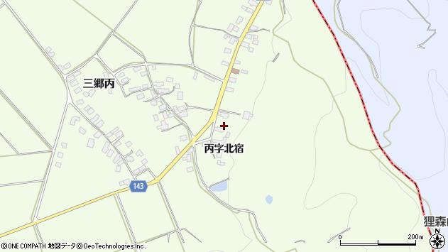 山形県西村山郡大江町三郷丙338周辺の地図