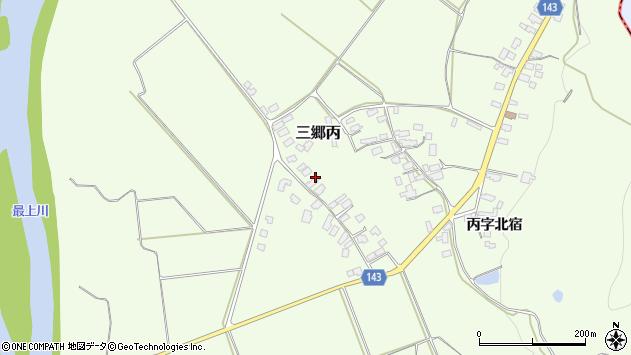 山形県西村山郡大江町三郷丙702周辺の地図