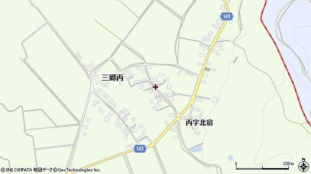 山形県西村山郡大江町三郷丙356周辺の地図