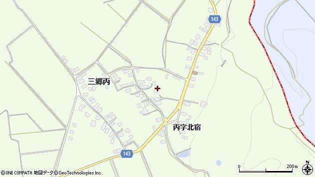 山形県西村山郡大江町三郷丙354周辺の地図