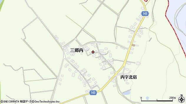 山形県西村山郡大江町三郷丙366周辺の地図