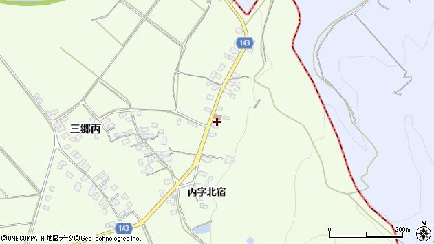 山形県西村山郡大江町三郷丙周辺の地図
