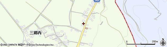 山形県西村山郡大江町三郷丙406周辺の地図