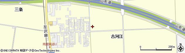 山形県寒河江市寒河江古河江34周辺の地図