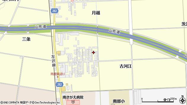 山形県寒河江市寒河江古河江32周辺の地図