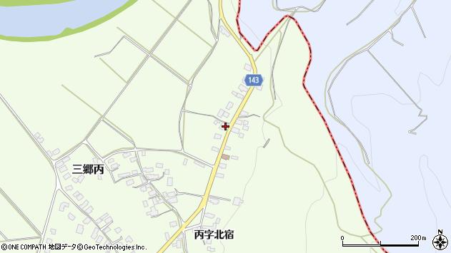山形県西村山郡大江町三郷丙462周辺の地図