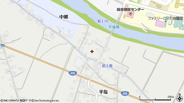 山形県寒河江市平塩289周辺の地図