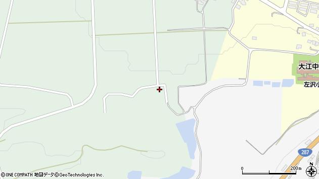 山形県西村山郡大江町小見100周辺の地図