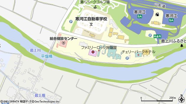 山形県寒河江市寒河江久保7周辺の地図