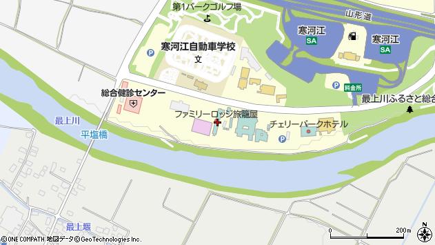 山形県寒河江市寒河江久保8周辺の地図
