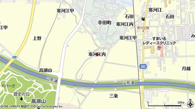 山形県寒河江市寒河江2289周辺の地図