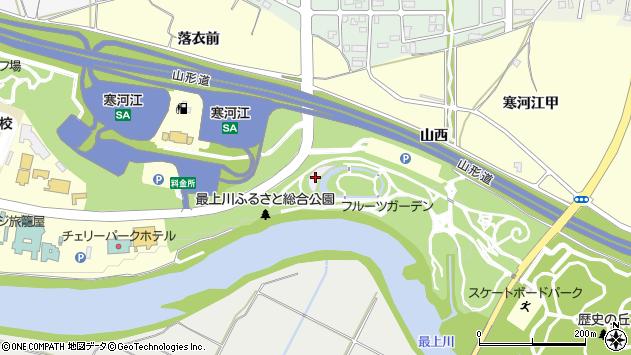 山形県寒河江市寒河江甲1269周辺の地図
