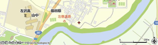 山形県西村山郡大江町藤田353周辺の地図