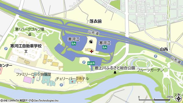 山形県寒河江市寒河江乙1113周辺の地図