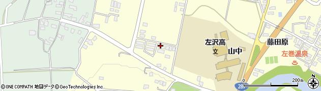 山形県西村山郡大江町藤田579周辺の地図