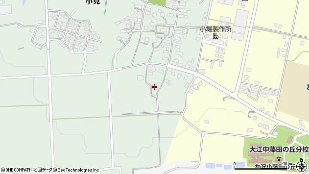 山形県西村山郡大江町小見189周辺の地図
