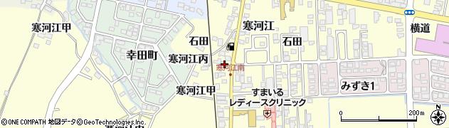 山形県寒河江市寒河江乙517周辺の地図