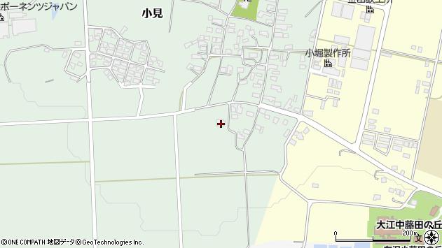 山形県西村山郡大江町小見923周辺の地図