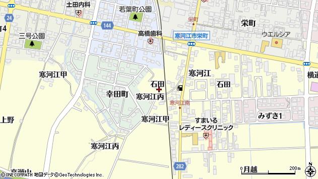 山形県寒河江市寒河江乙523周辺の地図