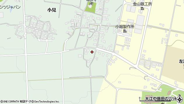 山形県西村山郡大江町小見192周辺の地図