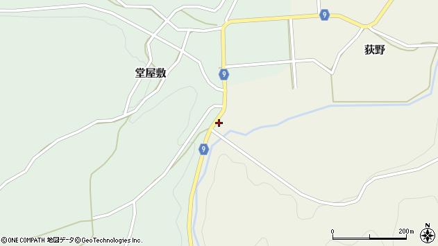 山形県西村山郡大江町荻野165周辺の地図