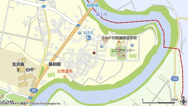 山形県西村山郡大江町藤田279周辺の地図
