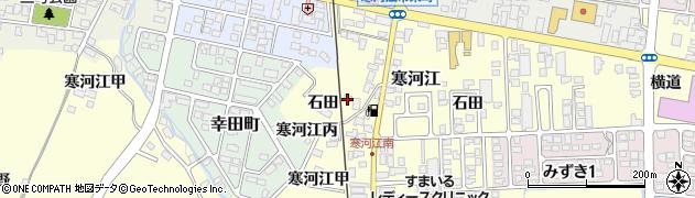 山形県寒河江市寒河江520周辺の地図